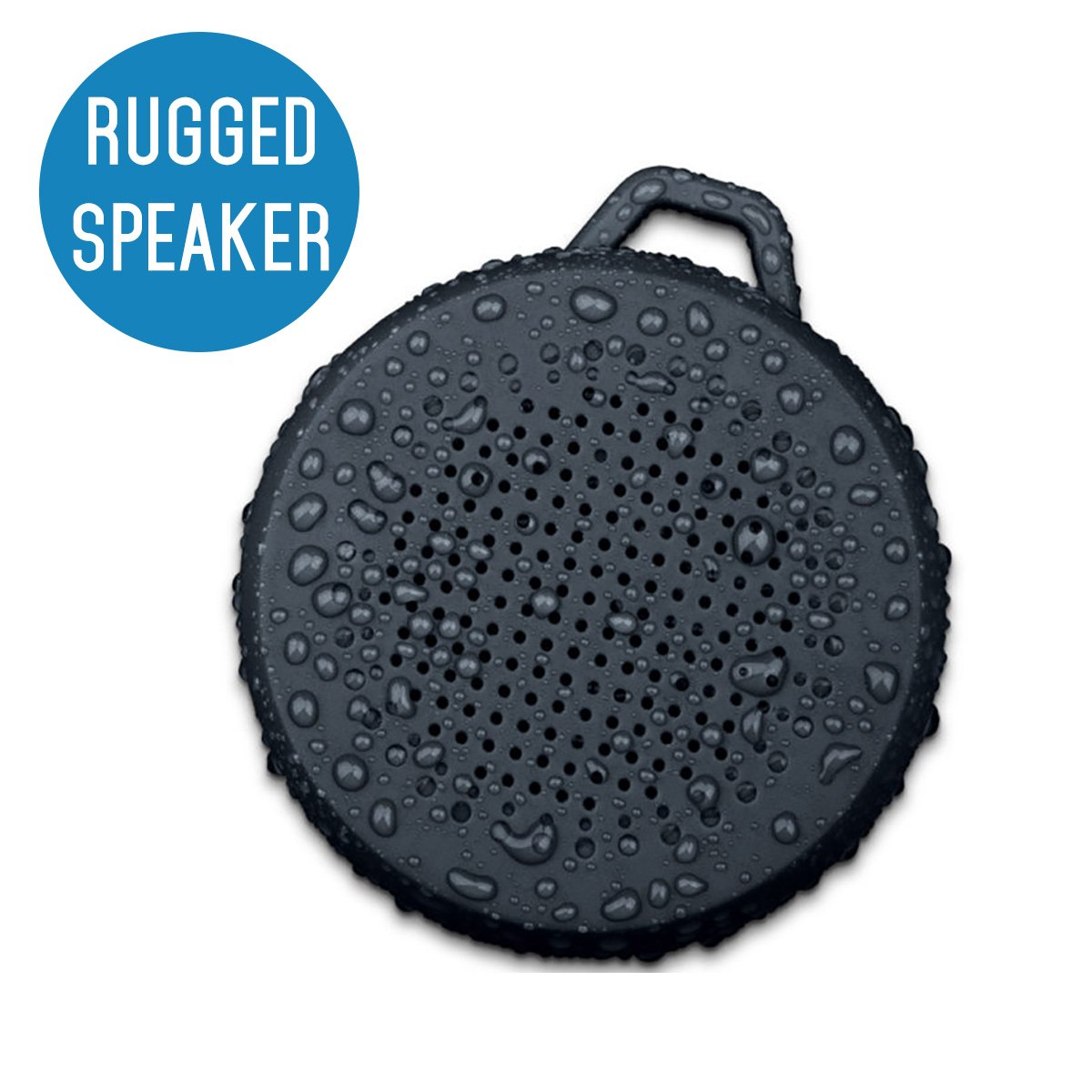 iVoltaa Rugged X1 Portable Bluetooth Speaker (Black)