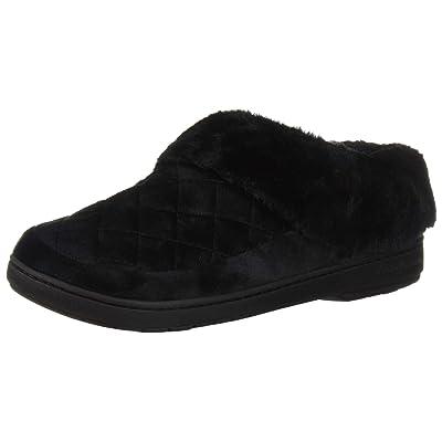 Amazon.com | Dearfoams Women's Velour Clog Slipper | Slippers