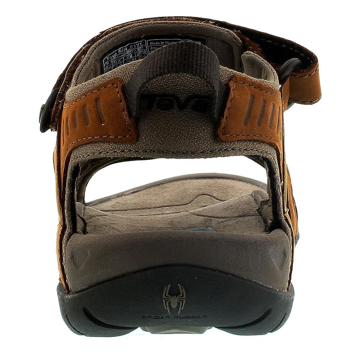 Teva Damen Damen Damen Tirra Leather W's Peeptoe Sandalen Rust 40,5 EU M  066a34