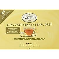 Twinings Earl Grey Sealed Tea Bags 144 Count 288 g, 288 Grams