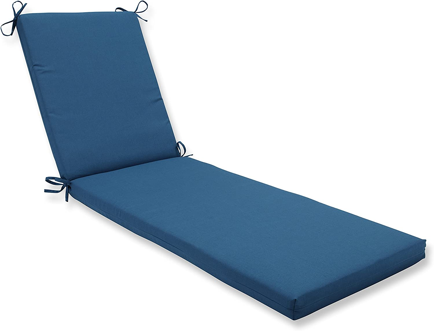- Pillow Perfect Indoor/Outdoor Chaise Lounge Cushion With Sunbrella