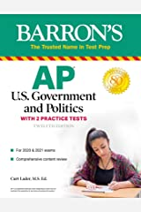 AP US Government and Politics: With 2 Practice Tests (Barron's Test Prep) Kindle Edition