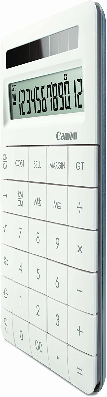 Canon 8339B002 Business Taschenrechner X MARK II wei/ß