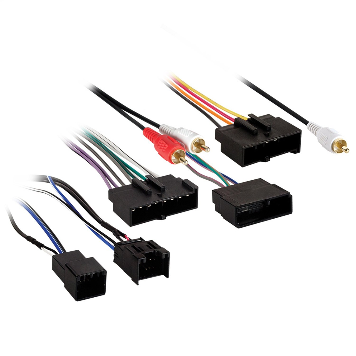 Metra Electronics 70 1776 Radio Harness For Models W Ford Wiring Kits Male Plugs Factory Nav And O Thx In To Car At Location Automotive