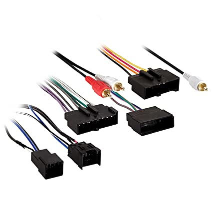 amazon com metra electronics 70 1776 radio harness for models w