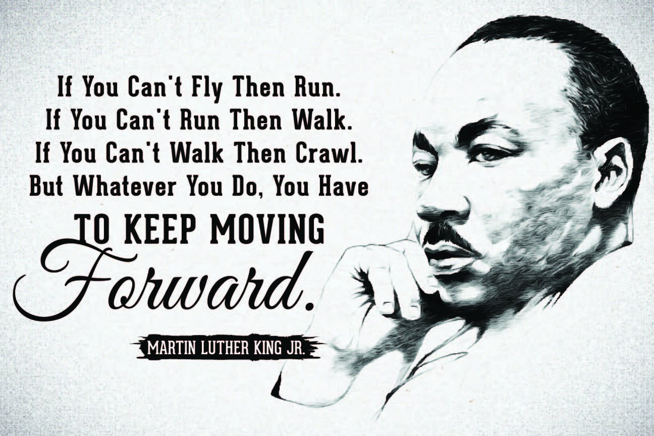 Amazon Jsc455 Keep Moving Forward Martin Luther King Jr Quote