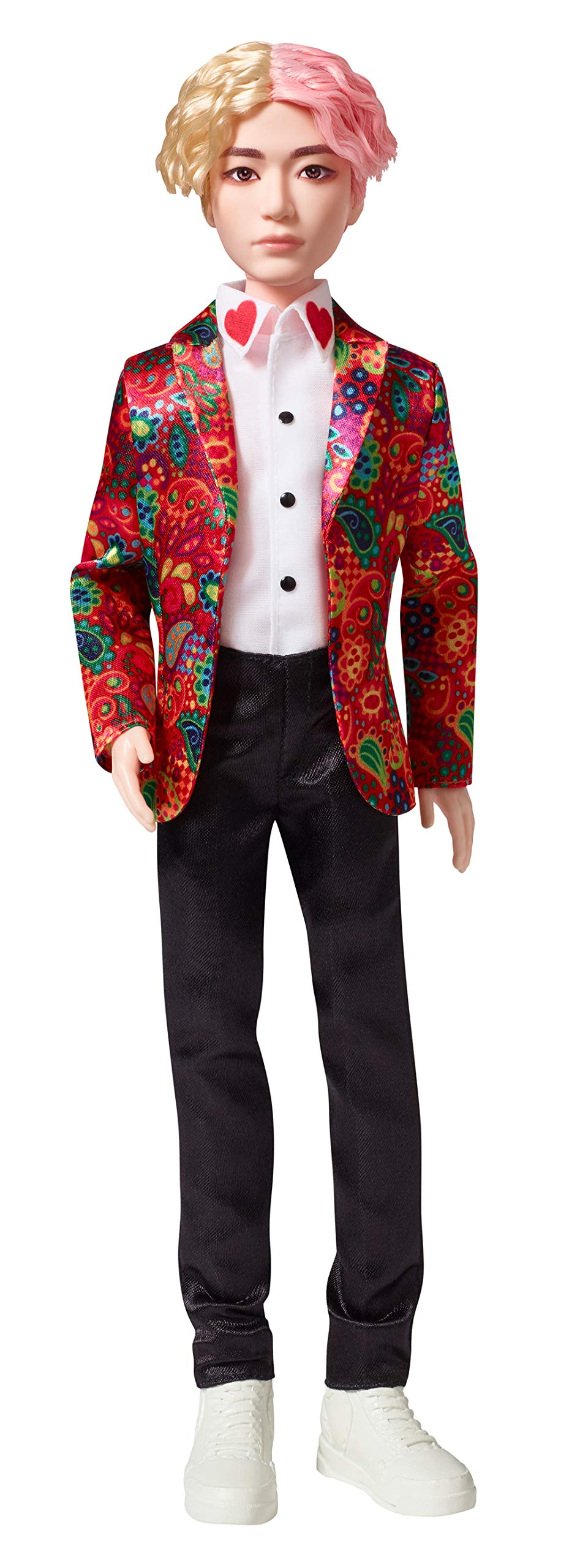 Mattel GKC89 BTS V Idol Fashion Doll for Collectors, K-Pop Toys Merchandise from 6 Years, 28 cm