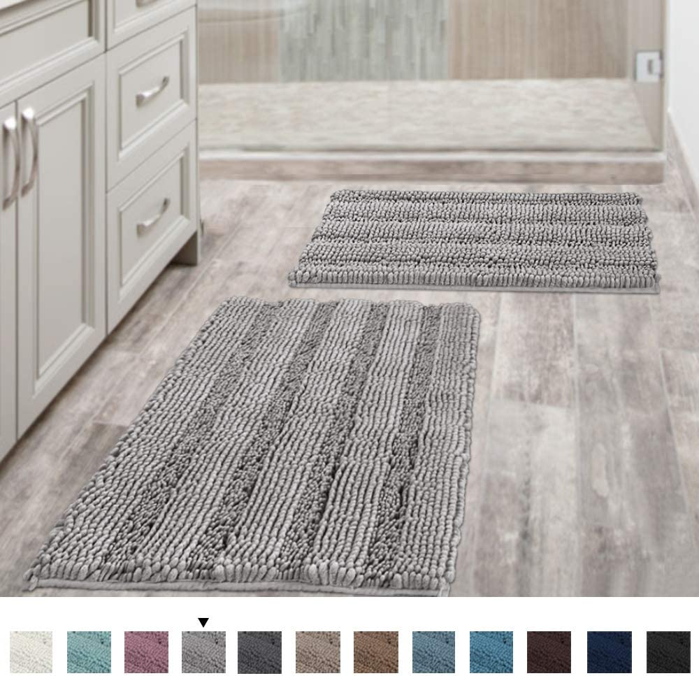 Non-Slip Thick Shaggy Chenille Rugs-Best Area Rugs For Kitchen