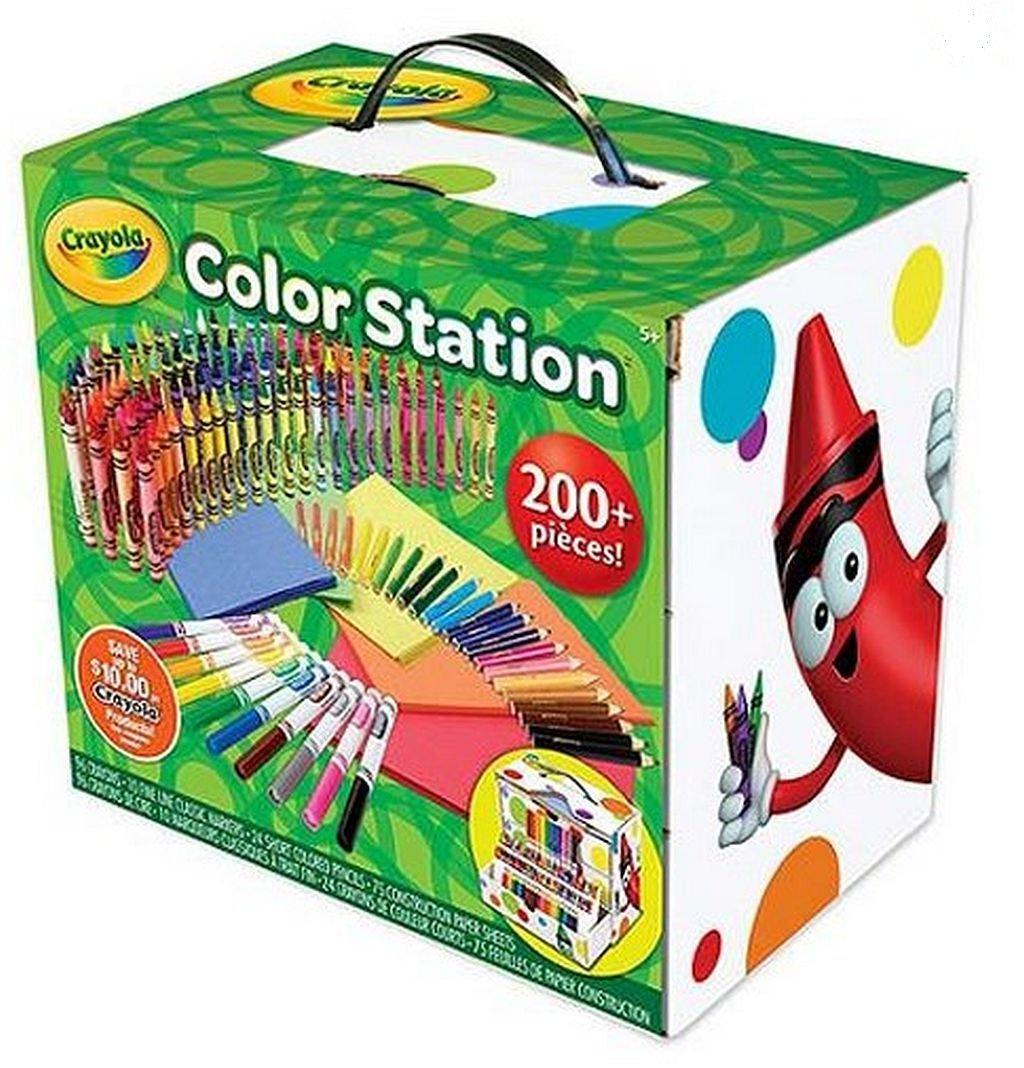Crayola Color Station 200 pieces: Amazon.es: Juguetes y juegos