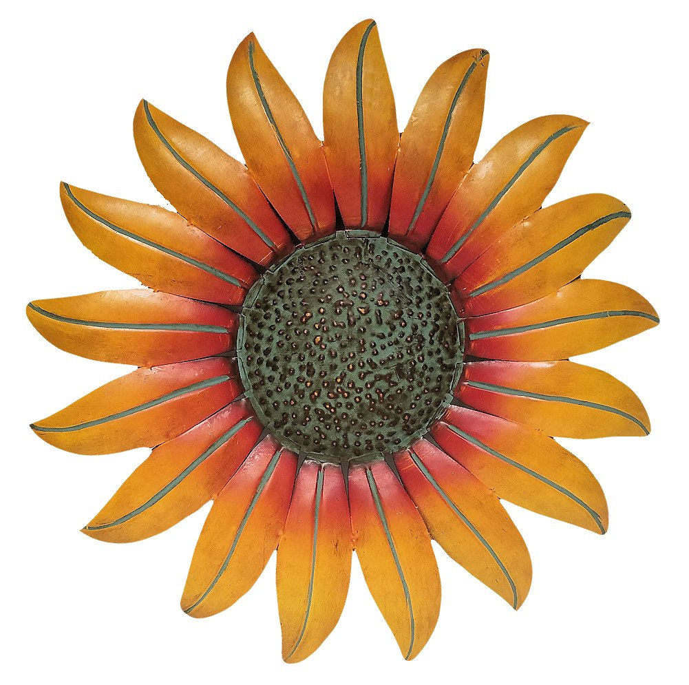 Gifts & Decor Sunflower Decor Metal Wall Plaque (18'') by Gifts & Decor