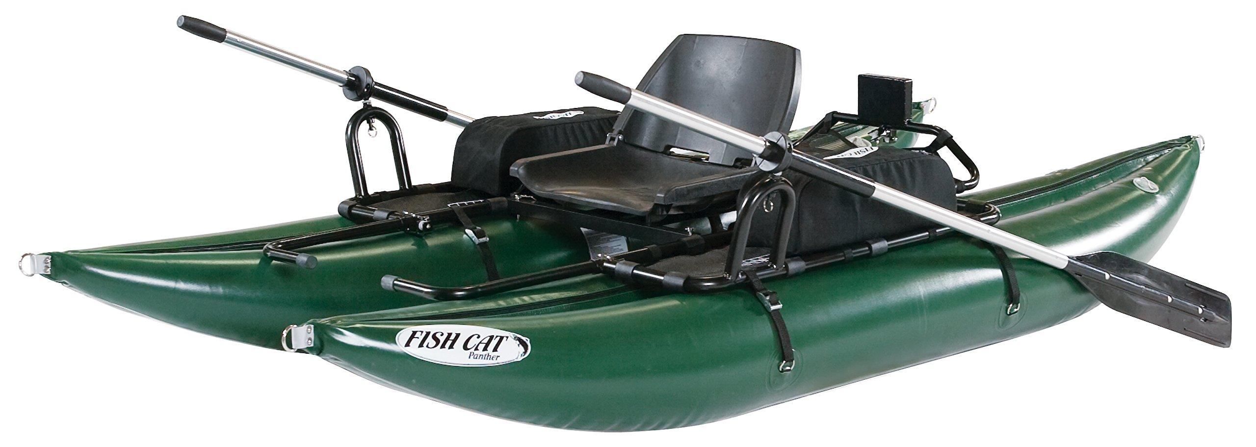 Outcast Fish Cat Panther Pontoon Boat - with Free $75 Gift Card by Outcast