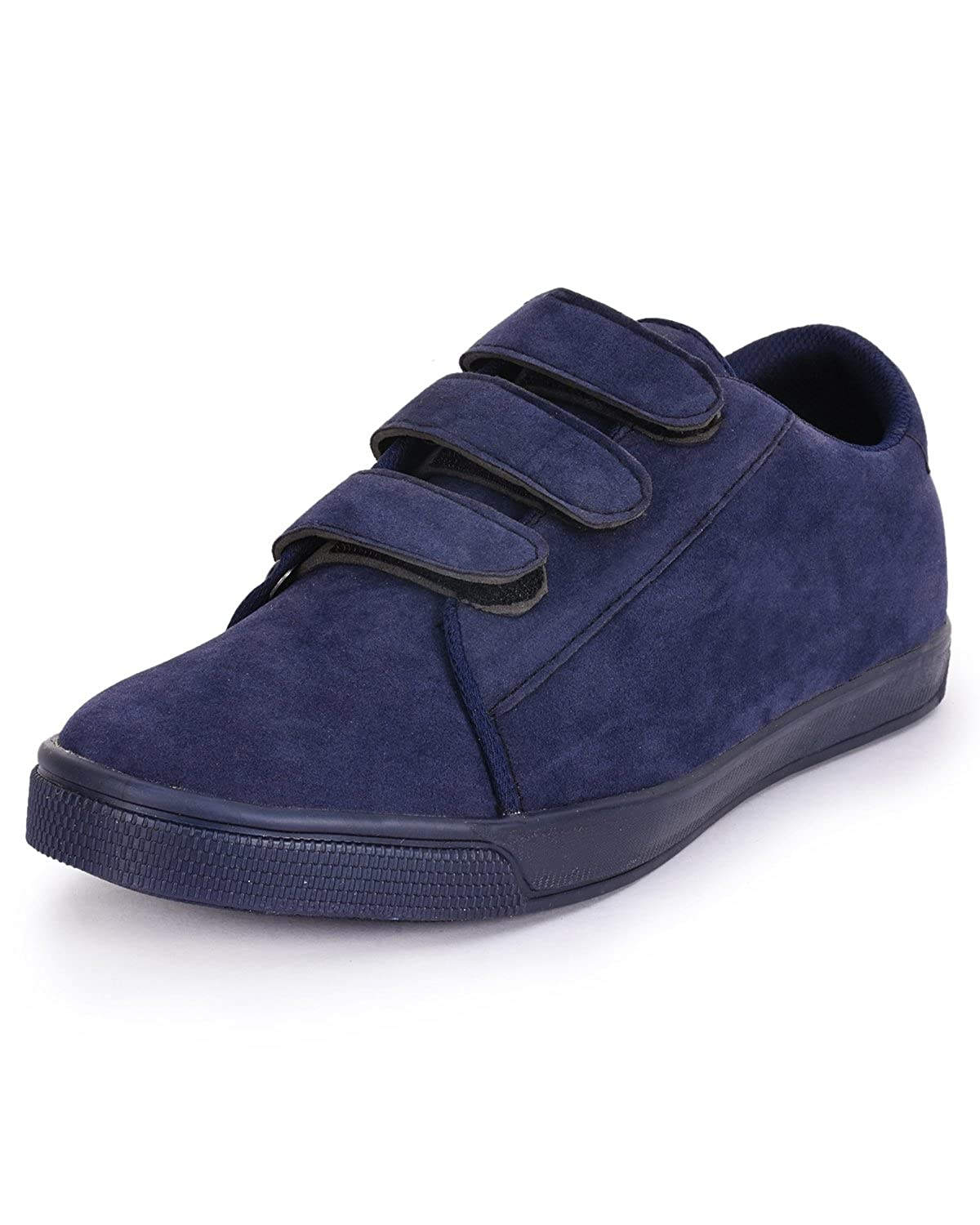 2545adfdcf4 foot n style Men s Blue Suede Smart Casual Shoes  Amazon.in  Shoes    Handbags