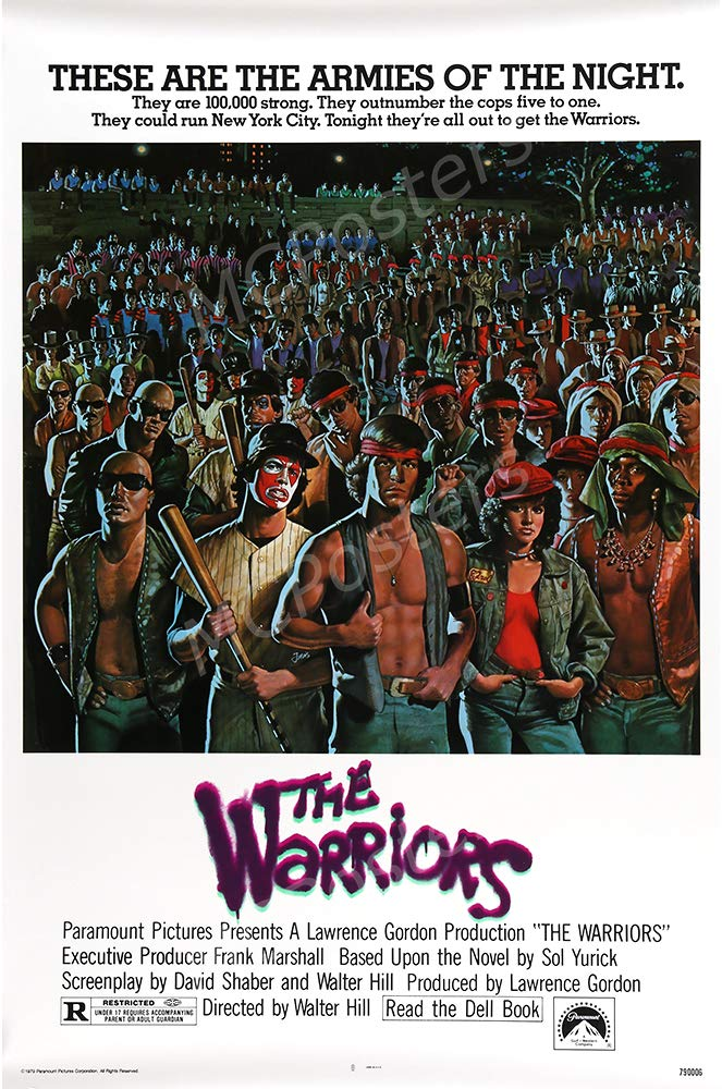 "MCPosters - The Warriors Glossy Finish Movie Poster - MCP685 (24"" x 36"" (61cm x 91.5cm))"
