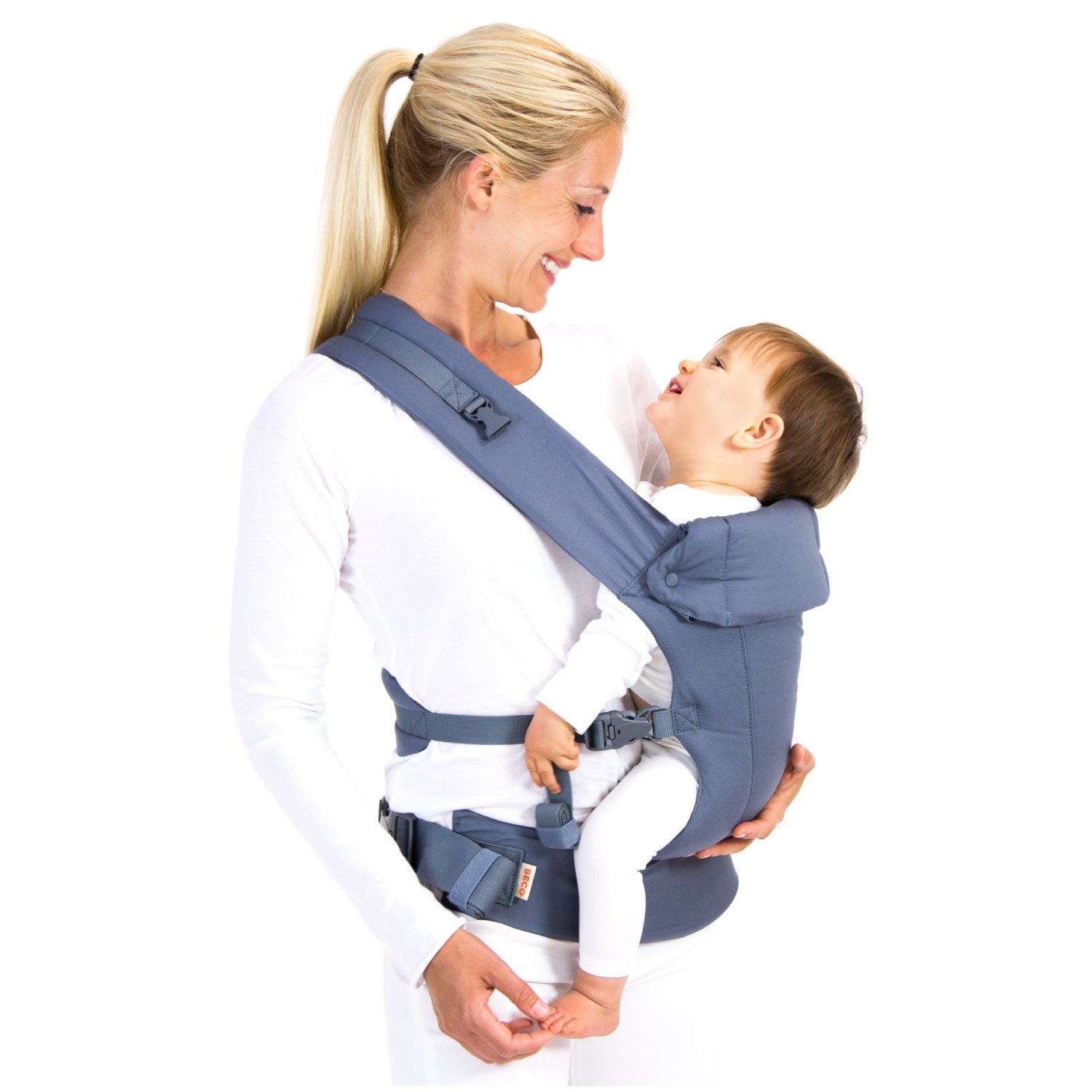 478abf4007f Amazon.com   Gemini Performance Baby Carrier By Beco - Multi-Position Soft  Structured Sling w  Adjustable Straps   Comfort Padding for Infant Toddler  Hip ...