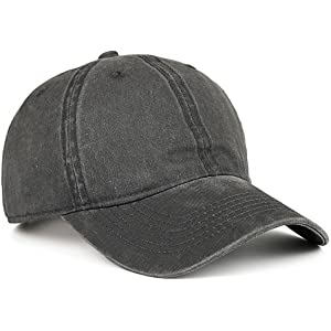 VANCIC Low Profile Washed Brushed Twill Cotton Adjustable Baseball Cap Dad  Hat 16421b5f7d04