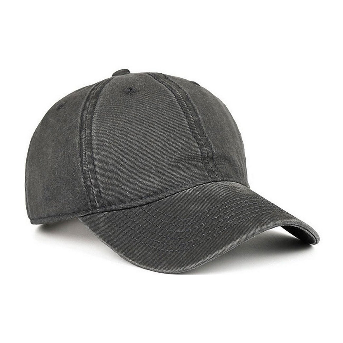 74ce806ce45 VANCIC Low Profile Washed Brushed Twill Cotton Adjustable Baseball Cap Dad  Hat for Men Women (Dark Grey)  Amazon.ca  Sports   Outdoors