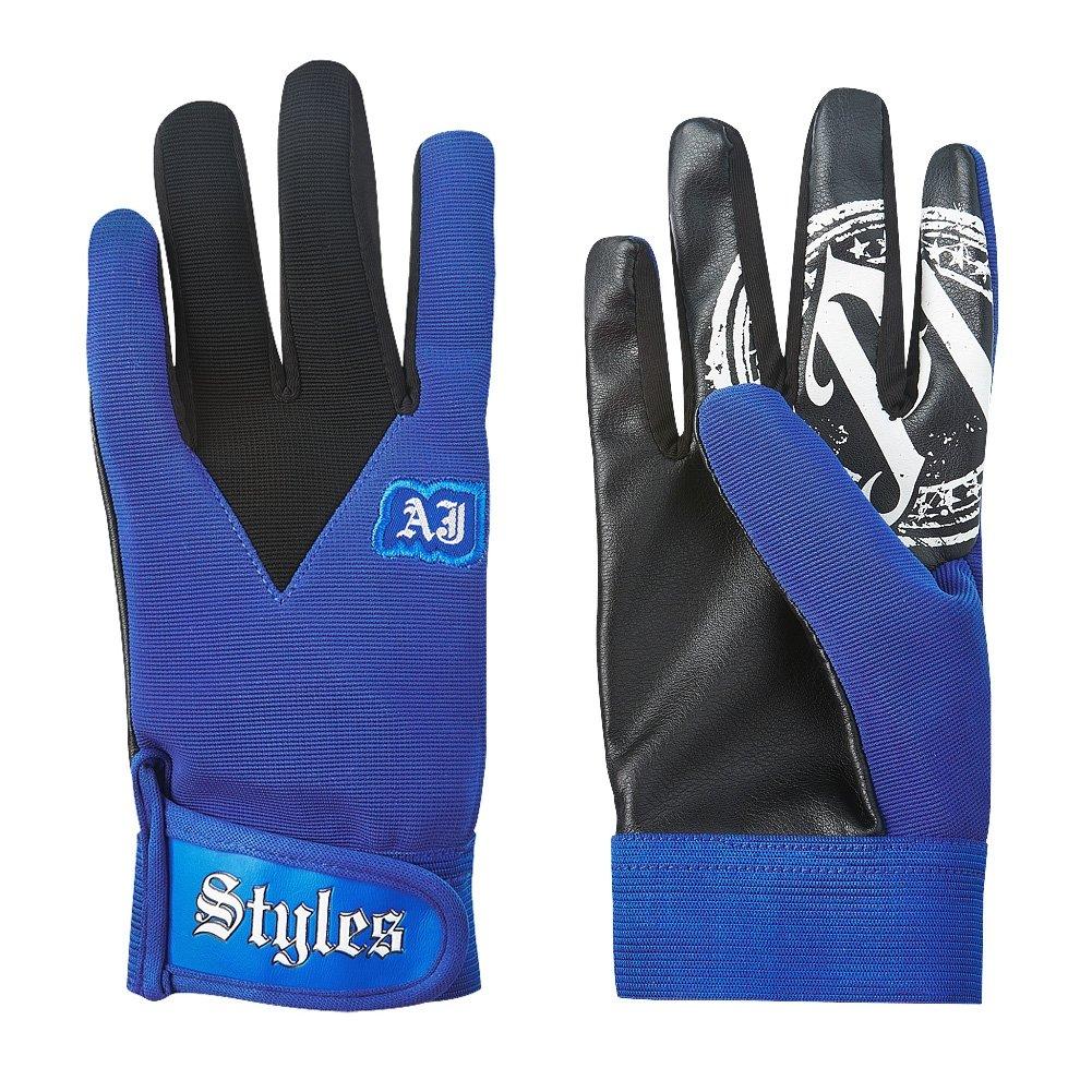 AJ Styles P1 Logo Pro Wrestling Fight Gloves - Royal
