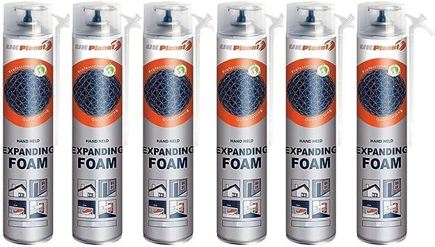 Sellador de espuma de poliuretano expandible para puertas y ...