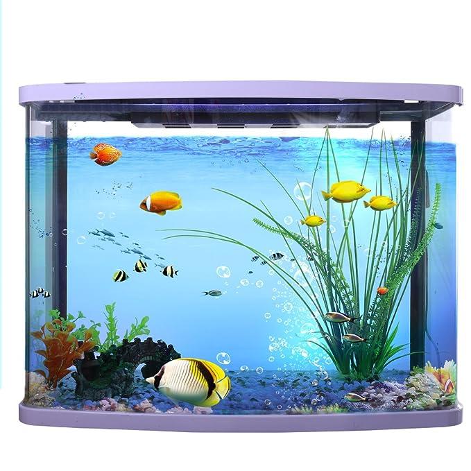 Sourcingmap - Hojas Acuario Plástico Plantas Fish Tank Decoración, 40 cm, Verde: Amazon.es: Productos para mascotas
