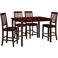 Essential 5-Pc. High Top Dining Set + $121.49 Kmart Credit