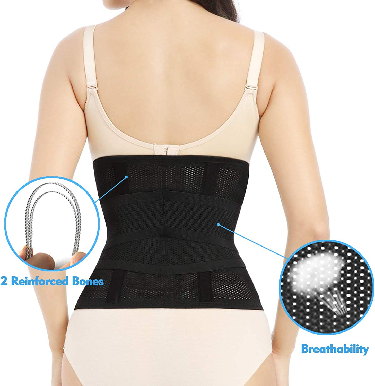 Women Postpartum Recovery Bone Belly Wrap Shapewear Underbust Corset Body Shaper