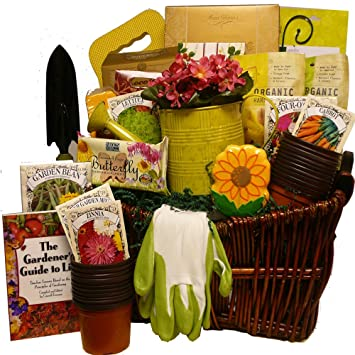 Art Of Appreciation Gift Baskets Gourmet Gardener Gift Basket Of Useful  Garden Tools And Treats