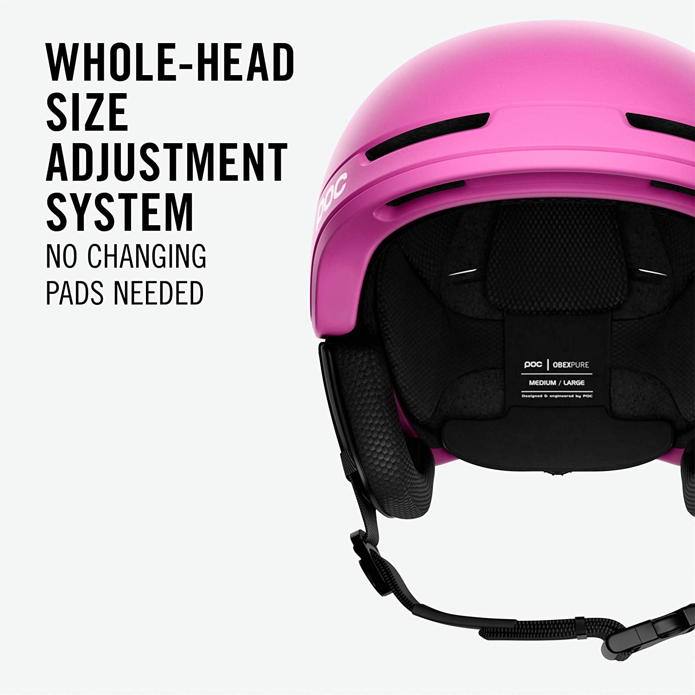 POC Unisex Adult Obex Pure Helmet Actinium Pink M-L