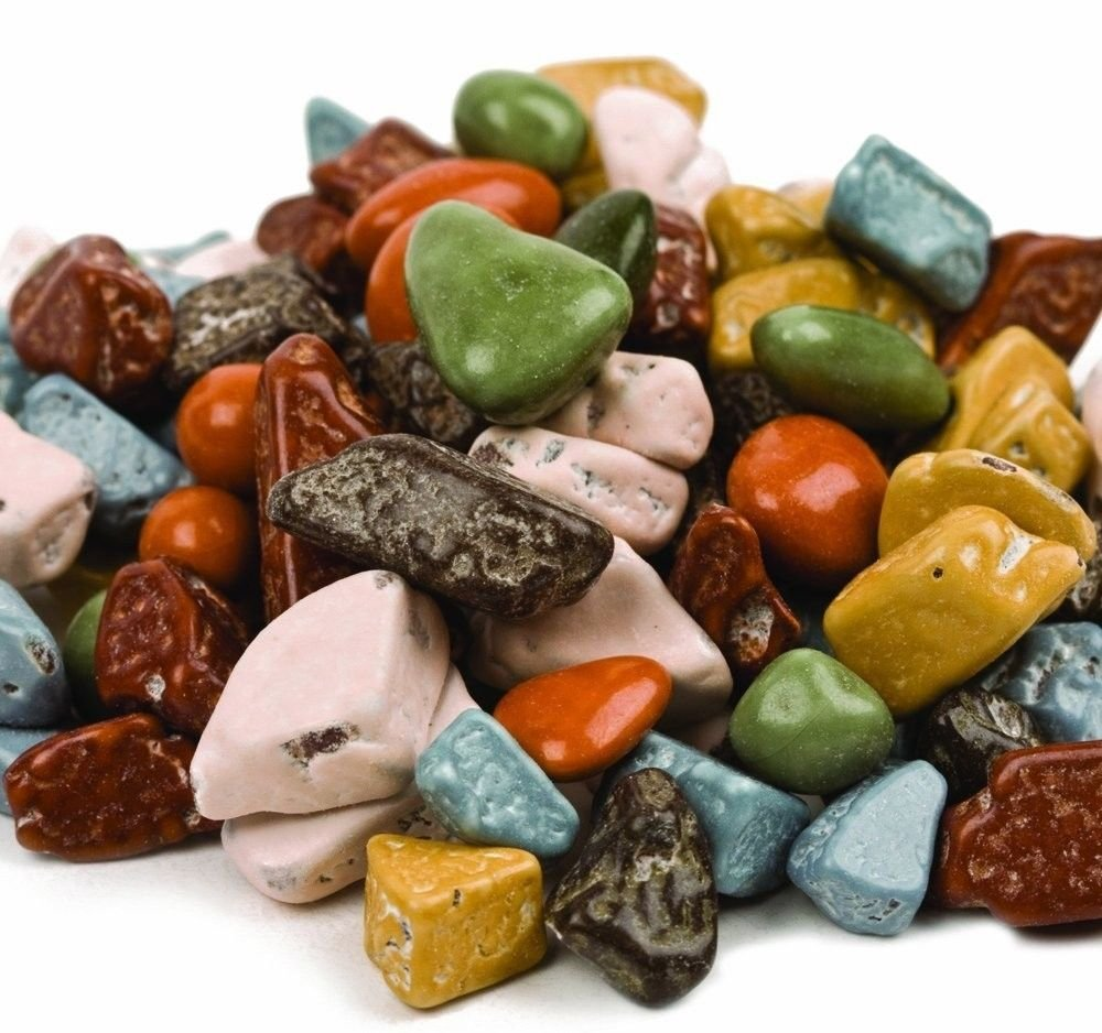 Amazon.com : SweetGourmet Candy Coated Chocolate Rocks (2 lb ...