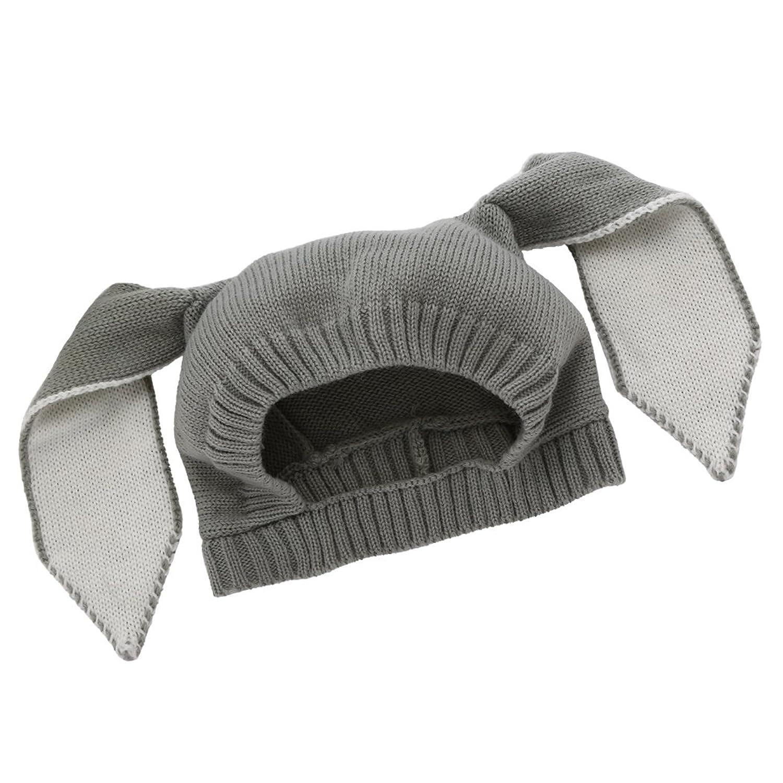 Nuevo MIOIM® Bebè Gorros Conejo Oreja Lindo Sombrero de Punto de Caliente  Gorra de Sombrero bc9e4d07f3d