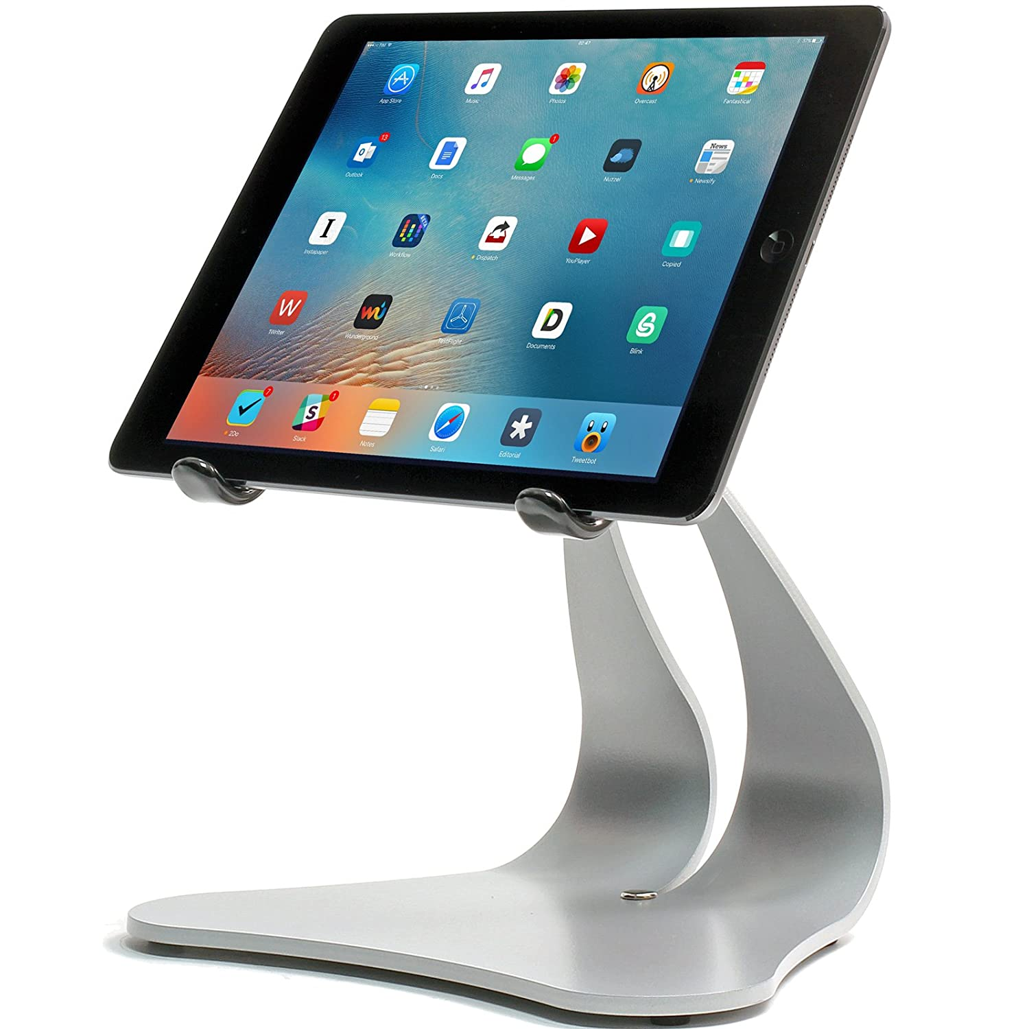 Amazon.com: Thought Out Stabile PRO Adjustable Stand Pivoting Silver ...