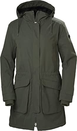 Helly Hansen Women's Vega Urban Styled Parka Coat with Warm Pile Lining