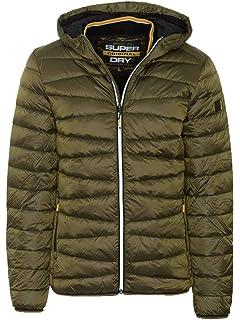 Superdry M50026DR Piumino Uomo Verde M: Amazon.it: Abbigliamento