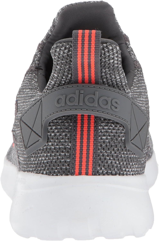 Adidas Herren Lite Racer Leichter Laufschuh BYD Grau Five Solar Rot Weiß