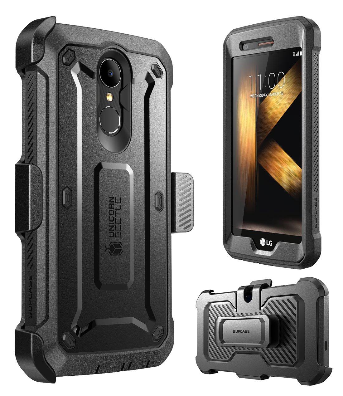 separation shoes 15004 2abc5 Details about For LG K20 Plus Case, SUPCASE UB PRO Rugged Holster Cover  with Screen Protector