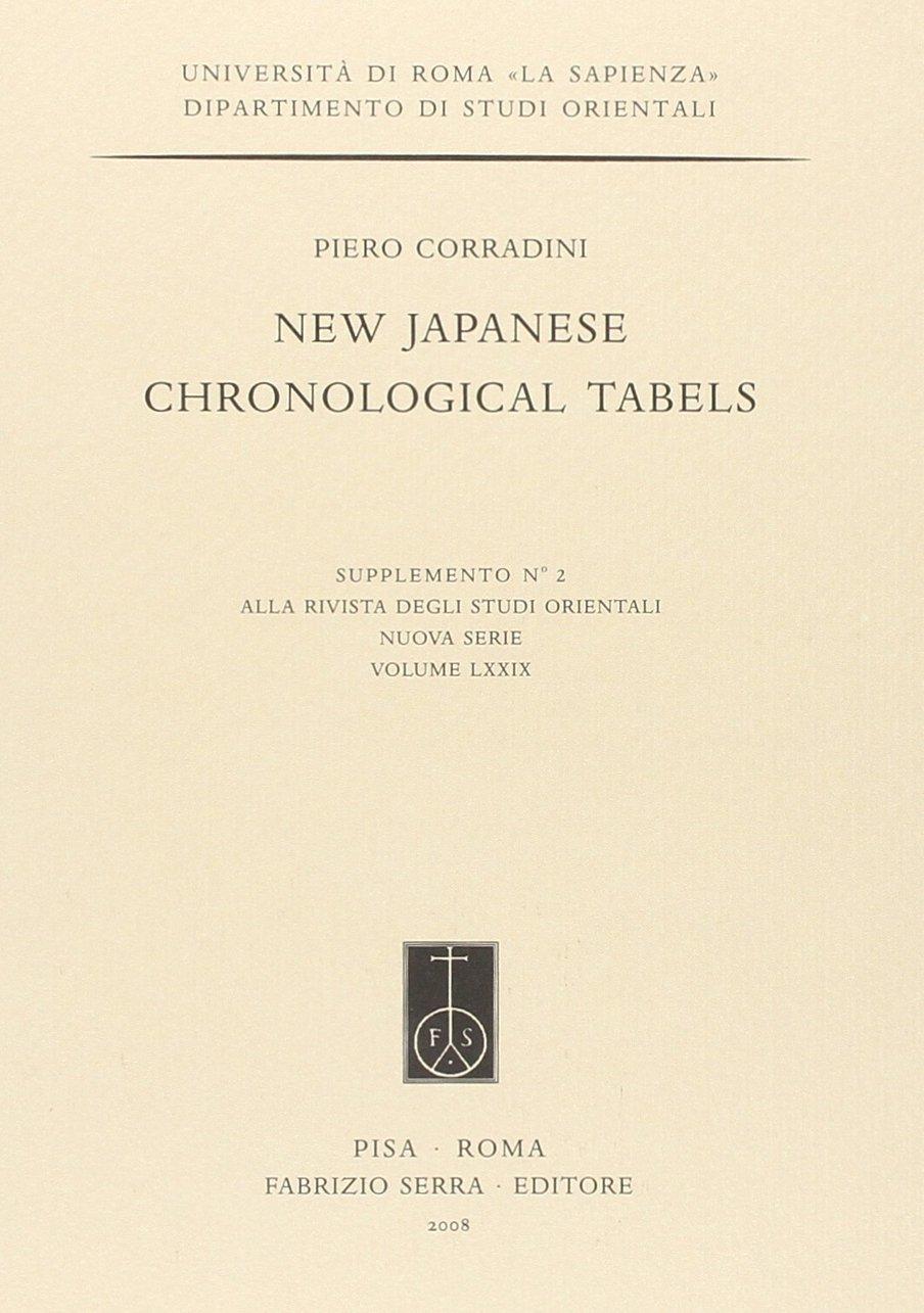 Calendario Giuliano Conversione.Amazon It New Japanese Chronological Tabels Ediz