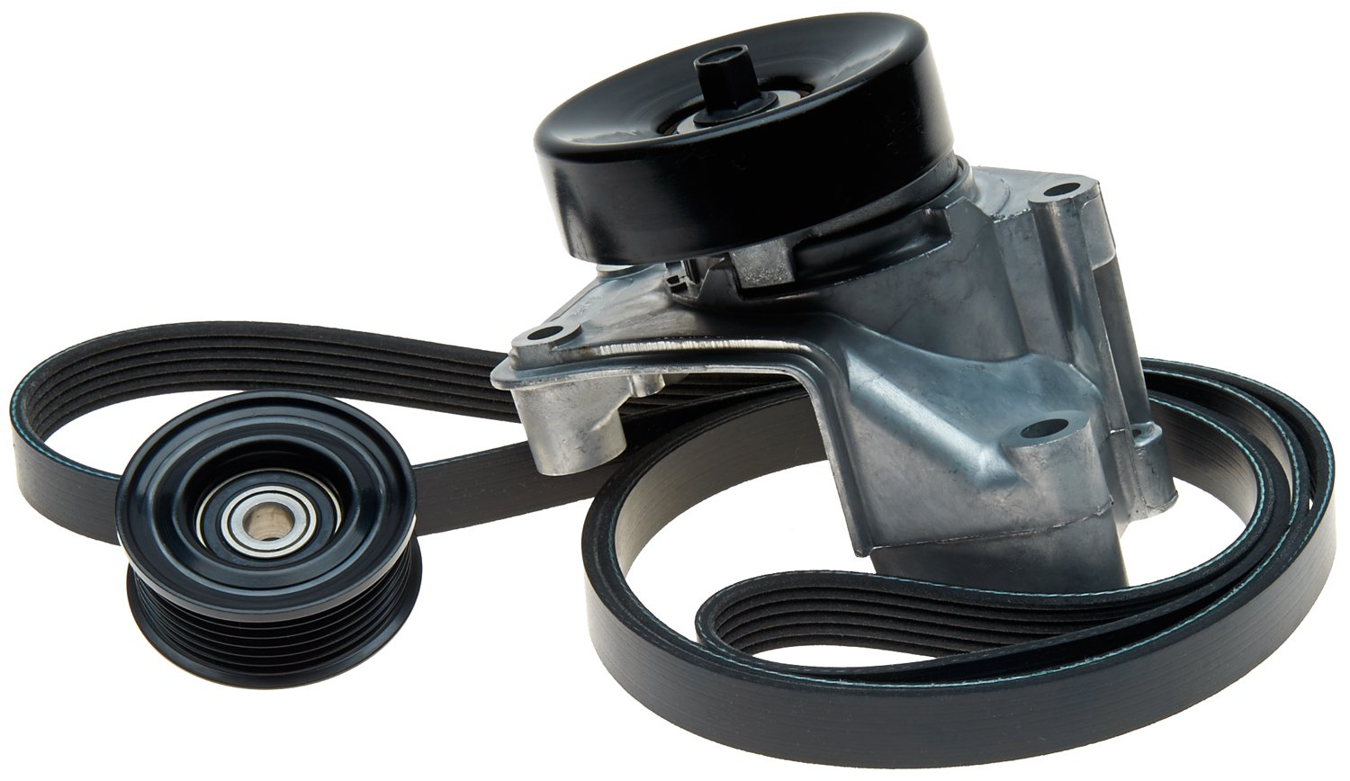 ACDelco ACK060882K1 Professional Automatic Belt Tensioner and Pulley Kit with Tensioner, Pulley, and Belt by ACDelco
