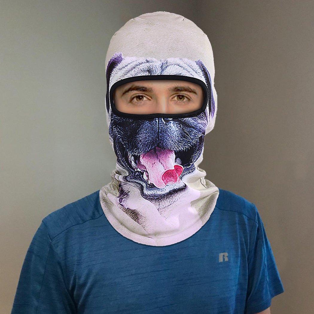 Outgeek Cat Mask, Women Men Balaclava Summer Full Face Hat Animal Ears Sports Helmet Climbing Fishing Cap (Colorful-8 2pcs) by Outgeek (Image #2)