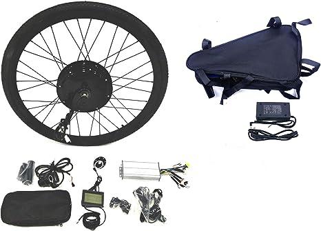 48v1500w Hub Motor Lektro Fahrrad Umbausatz Electric Bike Conversion Kit Lcd Tire Theebikemotor Bekleidung