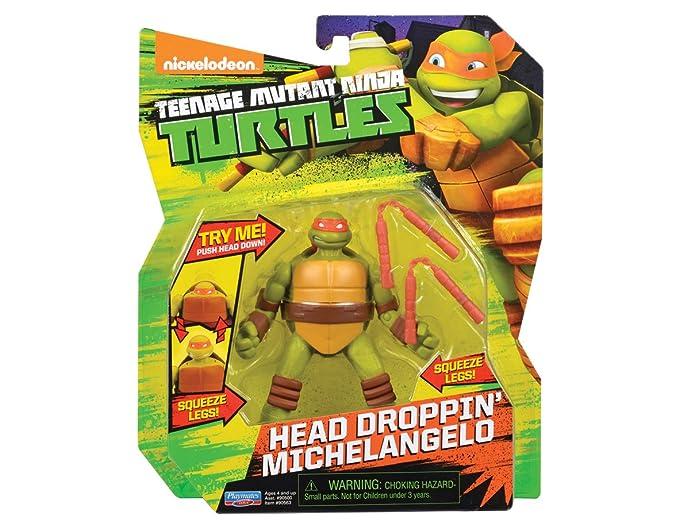 Las Tortugas Ninja - Miguel Ángel Cabeza Droppin - 12cm ...