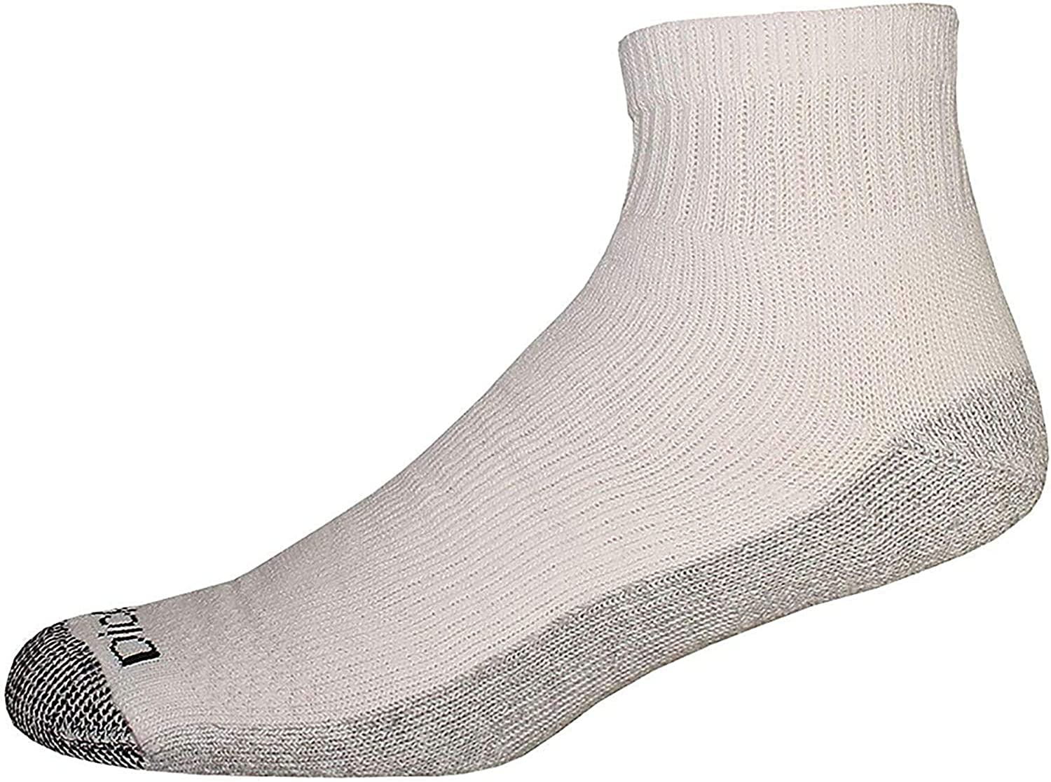 Details about  /Rugged White//Black Ankle Socks 3 Pair Kids Size 6-8 1//2 Made In The USA!!