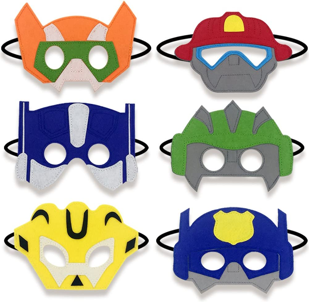 Amazon.com: Boy mano-ojo Máscaras de fieltro Boy Regalos de ...