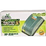 Colourful Aquarium #Ap208 - Aquarium Air Pump / Motor 1Way + 1 Mtr Air Tupe + 1 Air Stone