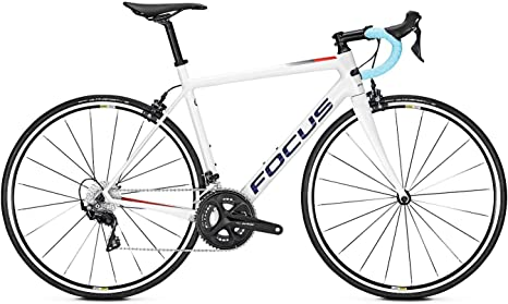 Focus Izalco Race 9.7 2019 - Bicicleta de Carreras, Color Blanco ...