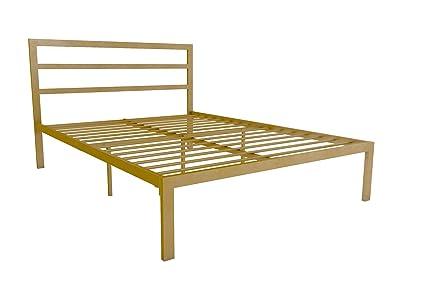 Amazon.com: Signature Sleep Modern Metal Platform Bed Frame ...