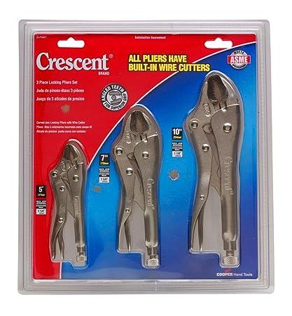 Crescent Lock Plier Set-3 Piece Clp3Set (3 Each) Clp3Set