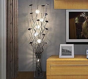 Stehleuchte Einfache Moderne Stehlampe Wohnzimmer Schlafzimmer Dekoration  LED Kristall Stehlampe Standleuchten