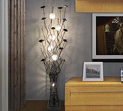 Floor Lamp Simple Modern Living Room Bedroom Decoration Led Crystal Stand Up Lamps Canada