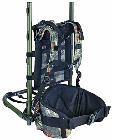 allen grand mesa aluminum pack frame with pouch mossy oak break up infinity - External Frame Hunting Backpack