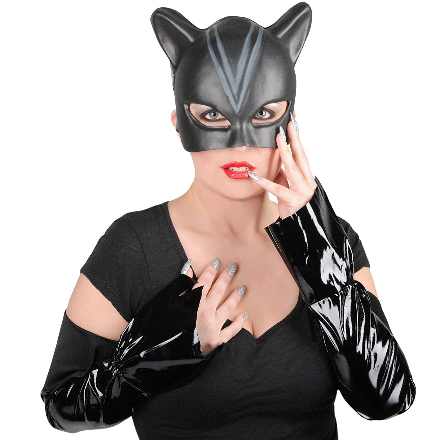 Amazon.com: Rubies Costume Co 17769 Catwoman Adult Accessory Kit ...