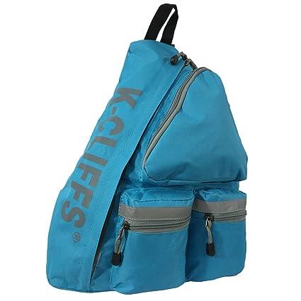 448f49e18f43a K-Cliffs Reflective Sling Backpack/Body Bag Messenger/Bag Daypack/School  Student